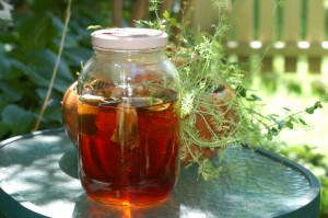 Sun Tea – A Carbon Free Treat