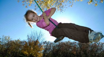 Girl on Swing (small)