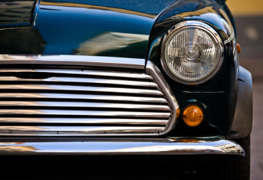 Car Front Headlight