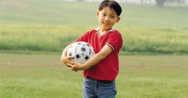 Soccer - Young Asian Boy