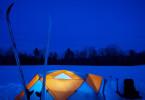 Winter Camp Site