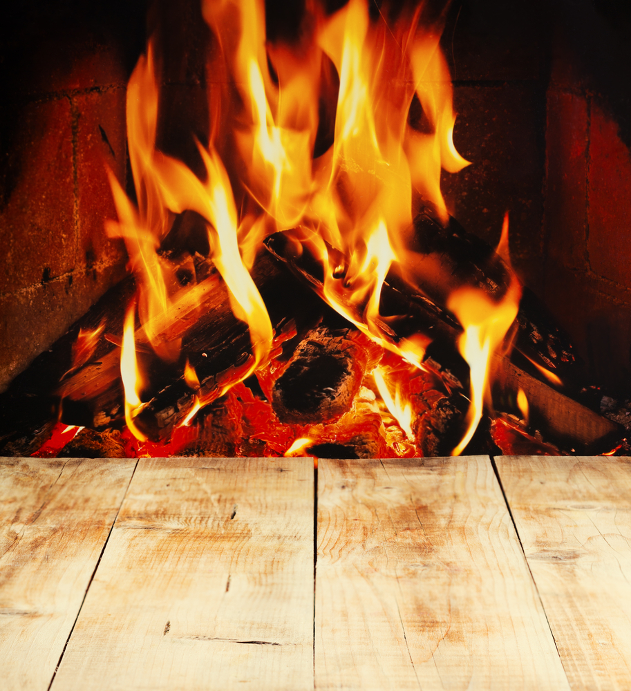 Wood Burning Fire Will Enlarge Your Carbon Footprint