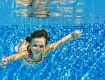 Girl Underwater In Pool