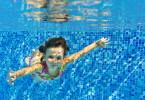 Girl Underwater In Pool