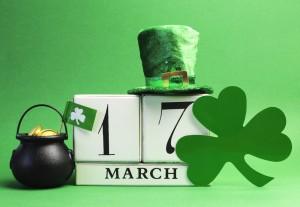 Go green for st patricks day